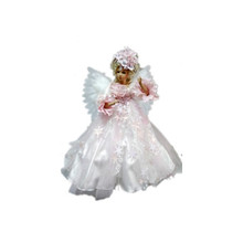 24in Animated & Musical Angel in White & Pink Dress #46066240000