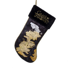 Kurt Adler Game of Thrones Map Stocking #GO7161