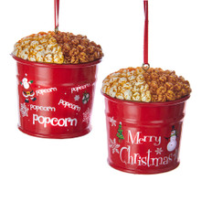 Kurt Adler Popcorn in Metal Can Ornament #A1768