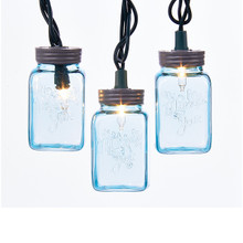 Kurt Adler Mason Jar Light Set #UL4314B