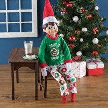 The Elf on the Shelf - Claus Couture Donut Be Naughty PJs