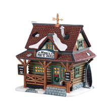 Lemax Village Collection Ron's Fish and Tackle #15583