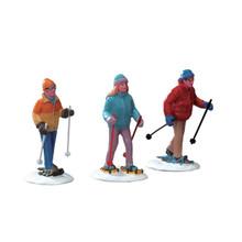 Lemax Village Collection Snowshoe Walkers, Set of 3 #22033