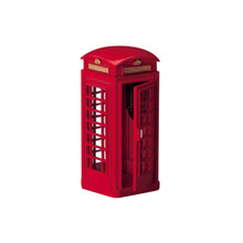 Lemax Village Collection Telephone Booth #44176