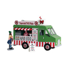 Lemax Village Collection Peppermint Food Truck, Set of 3 #83364
