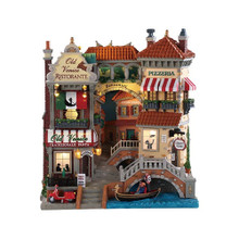 Lemax Village Collection Venice Canal Shops #85318