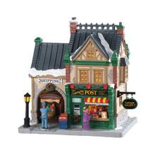 Lemax Village Collection Caddington Post #85364