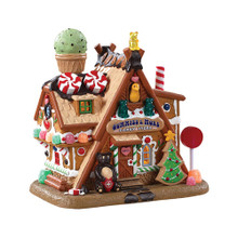 Lemax Village Collection Gummies & More Candy Store #85436