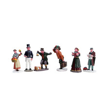 Lemax Village Collection Townsfolk, Set of 6 #92355