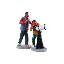 Lemax Village Collection Stargazing, Set of 2 #92744