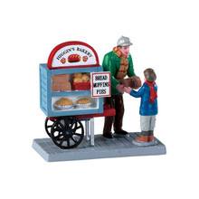 Lemax Village Collection Delivery Bread Cart #92749