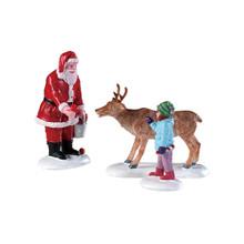 Lemax Village Collection Reindeer Goodies, Set of 3 #92752