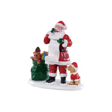 Lemax Village Collection Naughty or Nice Santa #92760