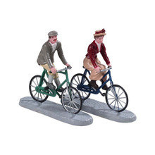 Lemax Village Collection Bike Ride Date, Set of 2 #92763