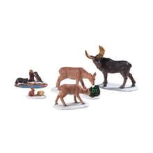 Lemax Village Collection Wild Animals, Set of 5 #92771