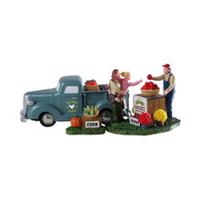 Lemax Village Collection Buy Local, Set of 3 #93428