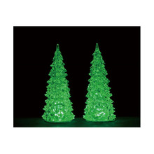 Lemax Village Collection Color Changing Lighted Crystal Tree #94517