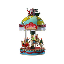 Lemax Village Collection Yuletide Carousel #94525