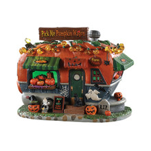 Lemax Village Collection Pick Me Pumpkin Wagon #95444