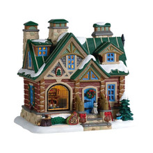 Lemax Village Collection Pine Peak Retreat #95474