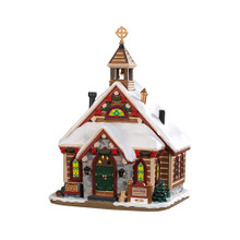 Lemax Village Collection Pinewood Springs Chapel #95477