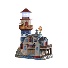 Lemax Village Collection Lobster Shack Lighthouse #95484