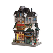 Lemax Village Collection Willow Square Gift Merchant #95523