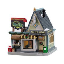 Lemax Village Collection Walt's Malts #95533