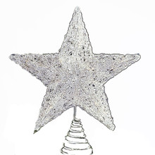 Kurt Adler 12 IN Spun Wire Star Treetop J2975 - Christmas Tree Topper