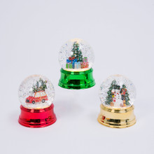 Lighted Water Globe with Holiday Scene