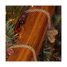 Gold Decorative Garland Twist Ties