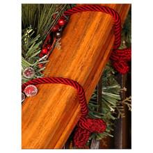 Red Decorative Garland Twist Ties