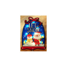 10LT Snowglobe Let It Snow Window Decoration