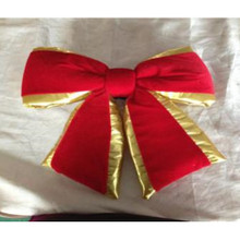 18in Red Outdoor Velvet Bow #MTX55254
