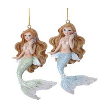 Mermaid with Pearls Ornament #MTX58205