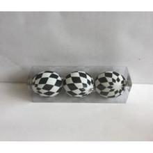 Glitter Harlequin Ball Ornaments #MTX60728
