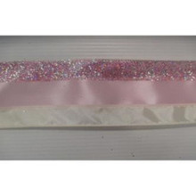 Blush and Bashful Stripe Wired Ribbon #MTX62888