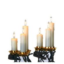 Kurt Adler 15L Triple Candle Light Set #UL1582