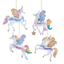 Kurt Adler Dreamy Unicorn Ornament #TD1613