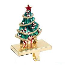 Kurt Adler Metal Christmas Tree Stocking Holder #JT0117