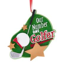 Kurt Adler Number One Golfer Ornament #A1908