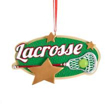 Kurt Adler Lacrosse Star Ornament #A1910
