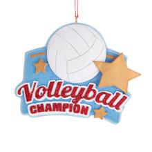 Kurt Adler Volleyball Champion Ornament #A1911
