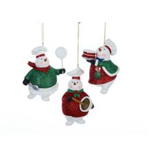 Kurt Adler Snowman Chef Ornament #C8307