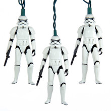 Kurt Adler 10L Star Wars Storm Trooper Light Set #SW9153