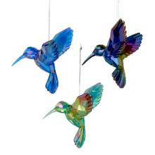 Kurt Adler Geometric Hummingbird Ornament #T1509