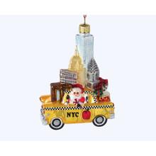 Kurt Adler Glass The Big Apple New York Ornament #C7562