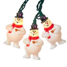 Kurt Adler 10L Frosty the Snowman Light Set #FT9161