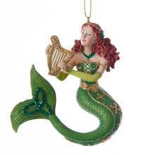 Kurt Adler Ireland Mermaid Ornament #E0209