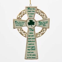 Kurt Adler Irish Cross Ornament #J4102